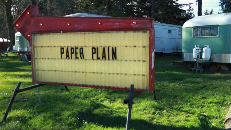 paper plain title